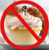 No more cupcakes (at least not for 12 weeks)